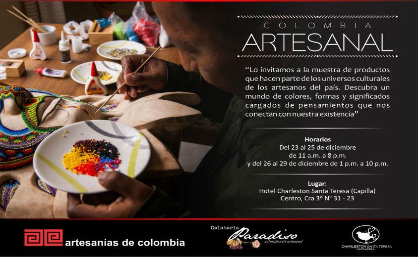 Colombia Artesanal Llega A Cartagena Artesanías De Colombia