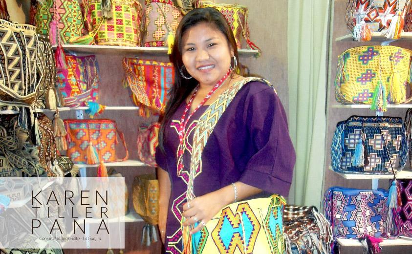 Karen Tiller Pana La Empresaria De La Mochila Wayúu Artesanías De