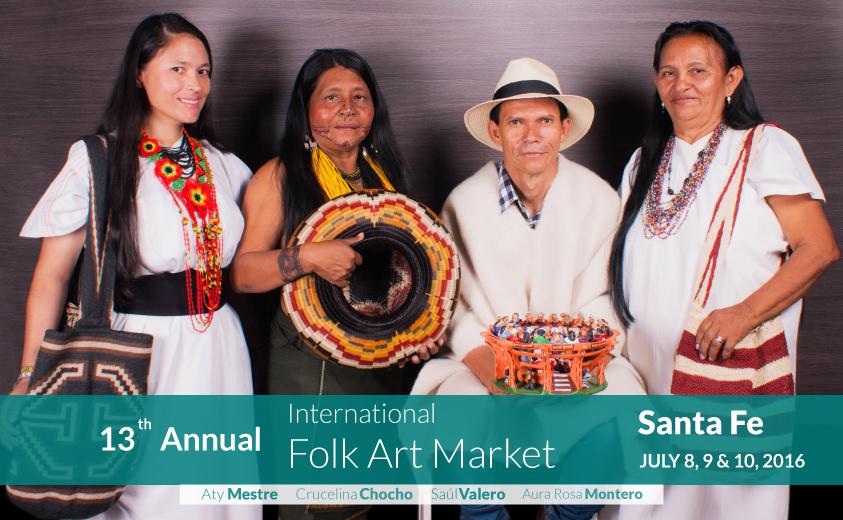 bc844cedf5d1 El Folk Art Market tiene su cuota colombiana - Artesanías de Colombia