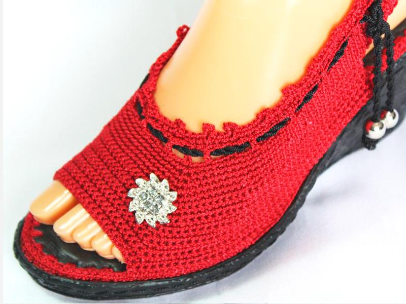 003529df7 zapatillas tejidas a crochet para mujer