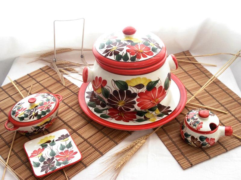 Ceramicas el dorado carmen de viboral galer a artesanal artesan as de colombia - Vajilla ceramica artesanal ...