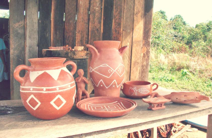 Los Cubeo la riqueza de los smbolos  Artesanas de Colombia